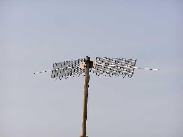 После этого можно переходить и к так называемой. польской антенны.