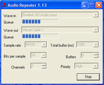 Audio Repiter 1.13
