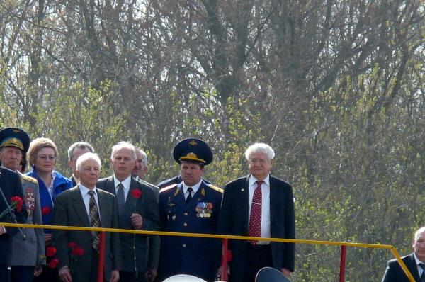 Привет на Саратовскую землю передали космонавты с борта МКС